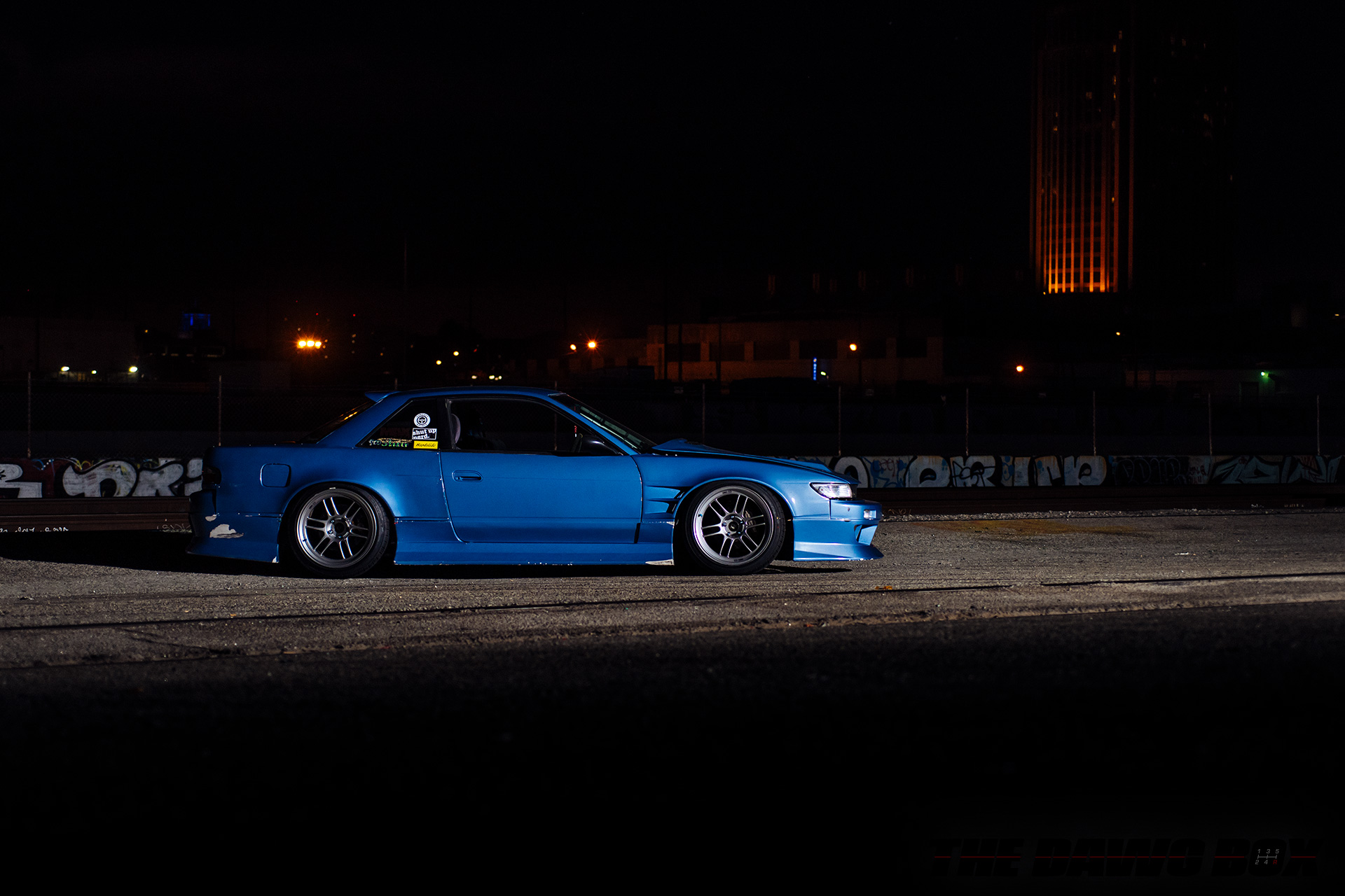 Nissan S13 Coupe, Side