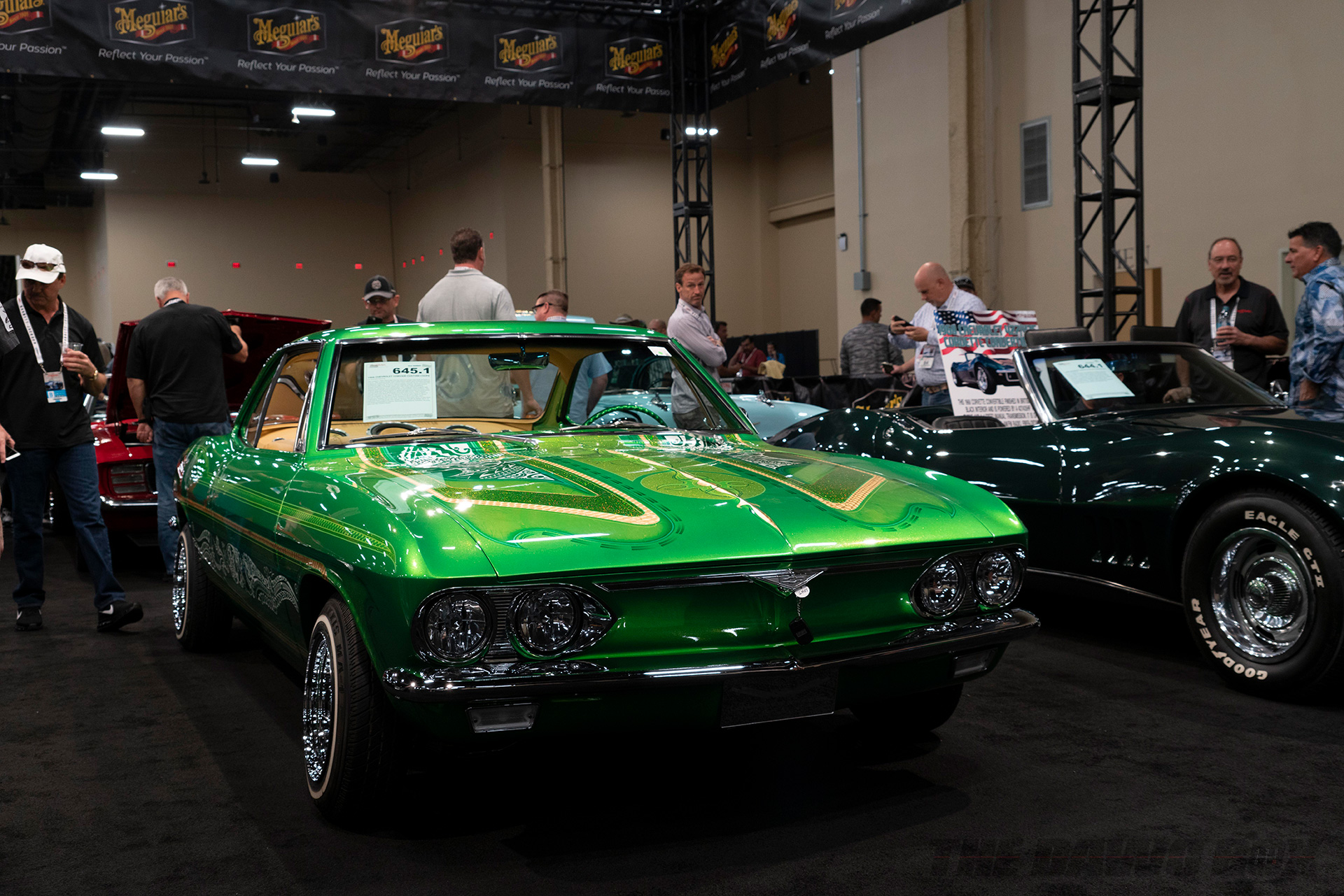 green chevy low  rider at Barrett-Jackson Auction