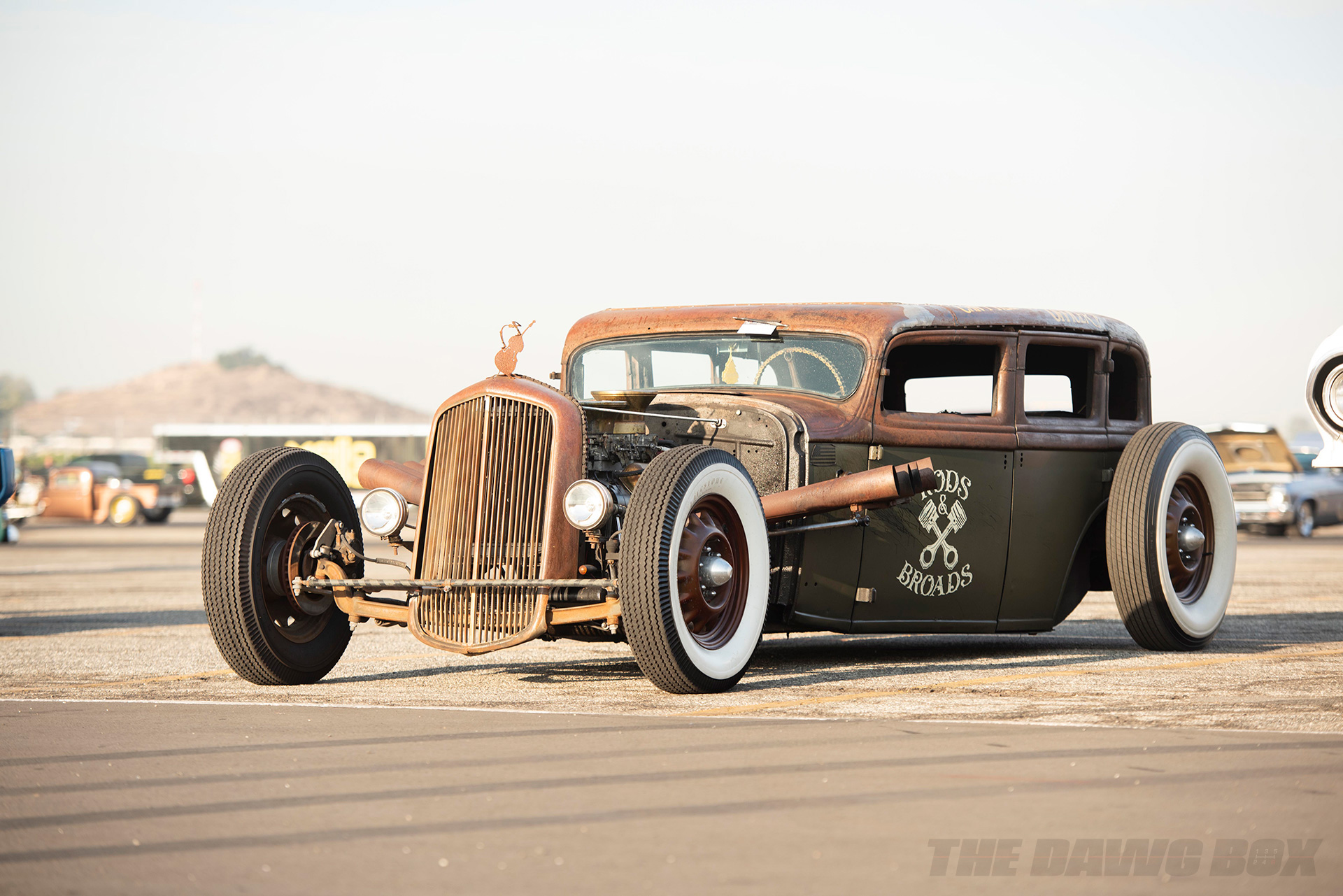 Rods & Braods rat rod at the In-N-Out Hot Rod 70th Celebration