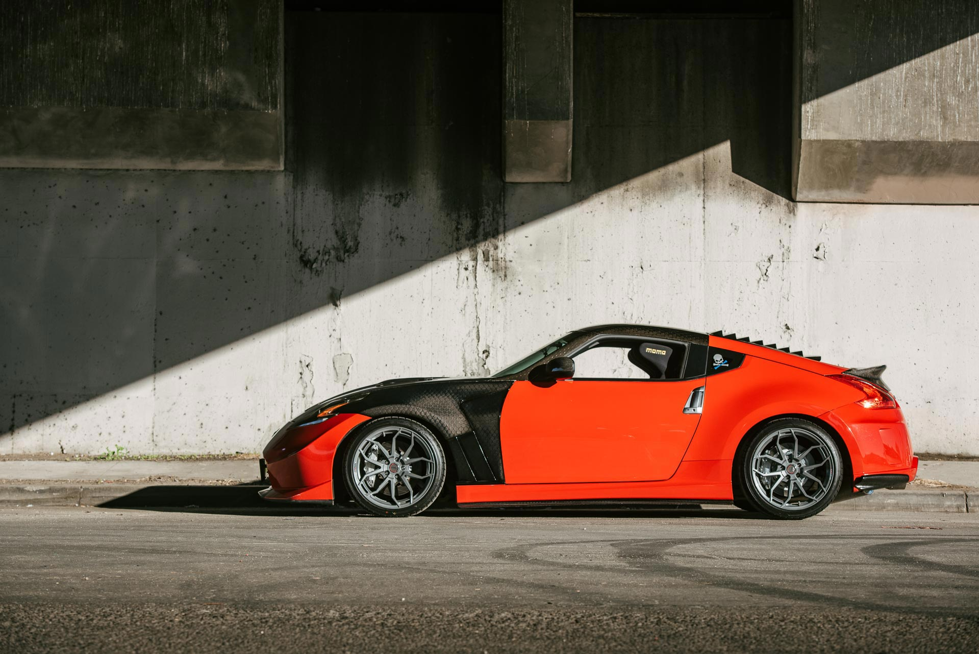 Nissan 370Z with Milestar ultra-high performance UHP tires