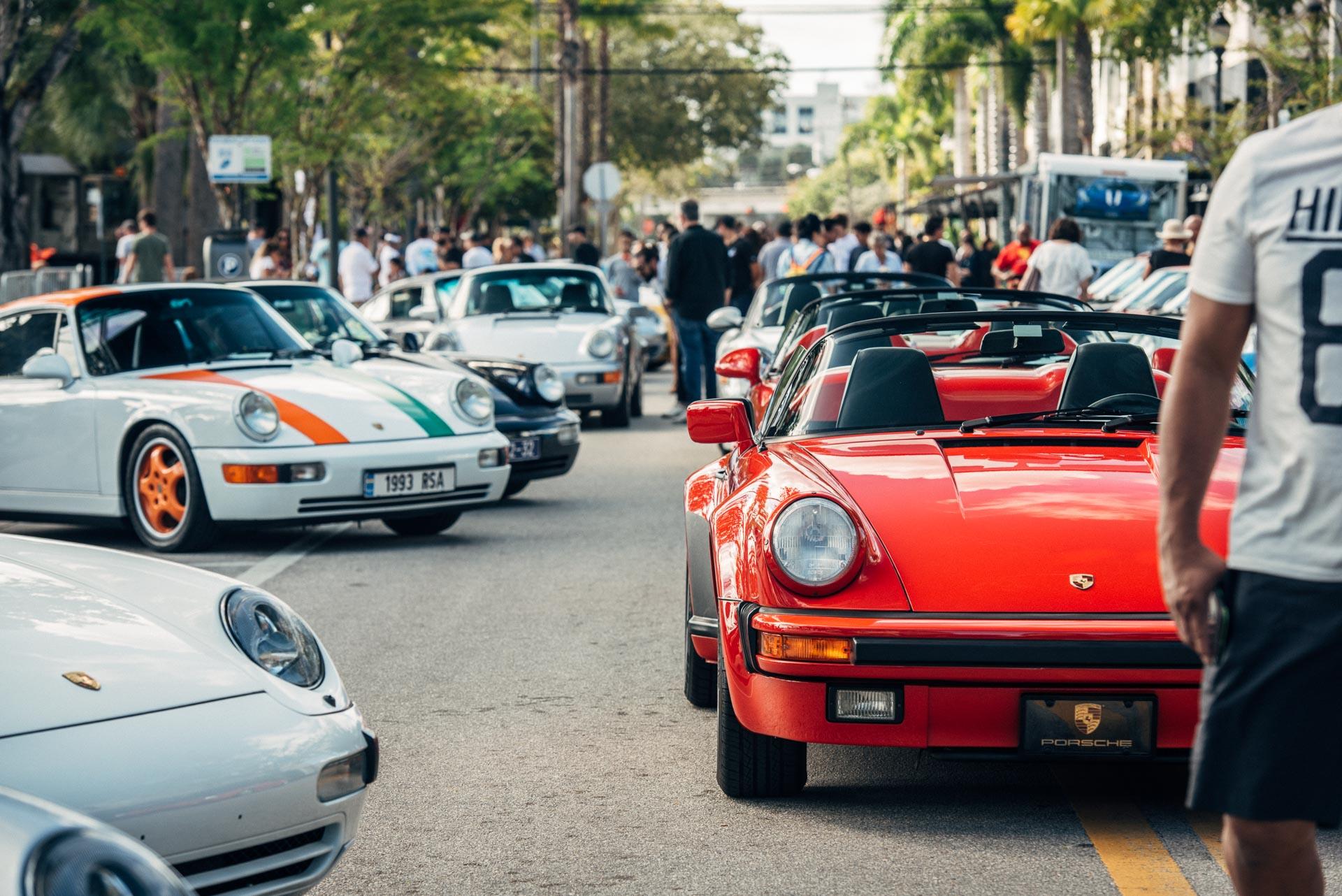 Porsches at DRT Das Renn Treffen 2019