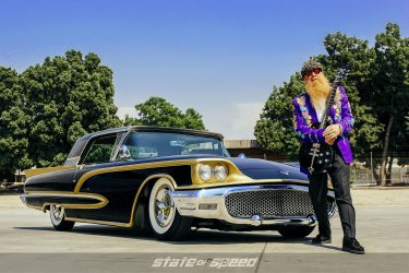Billy F Gibbons and his Mexican Blackbird