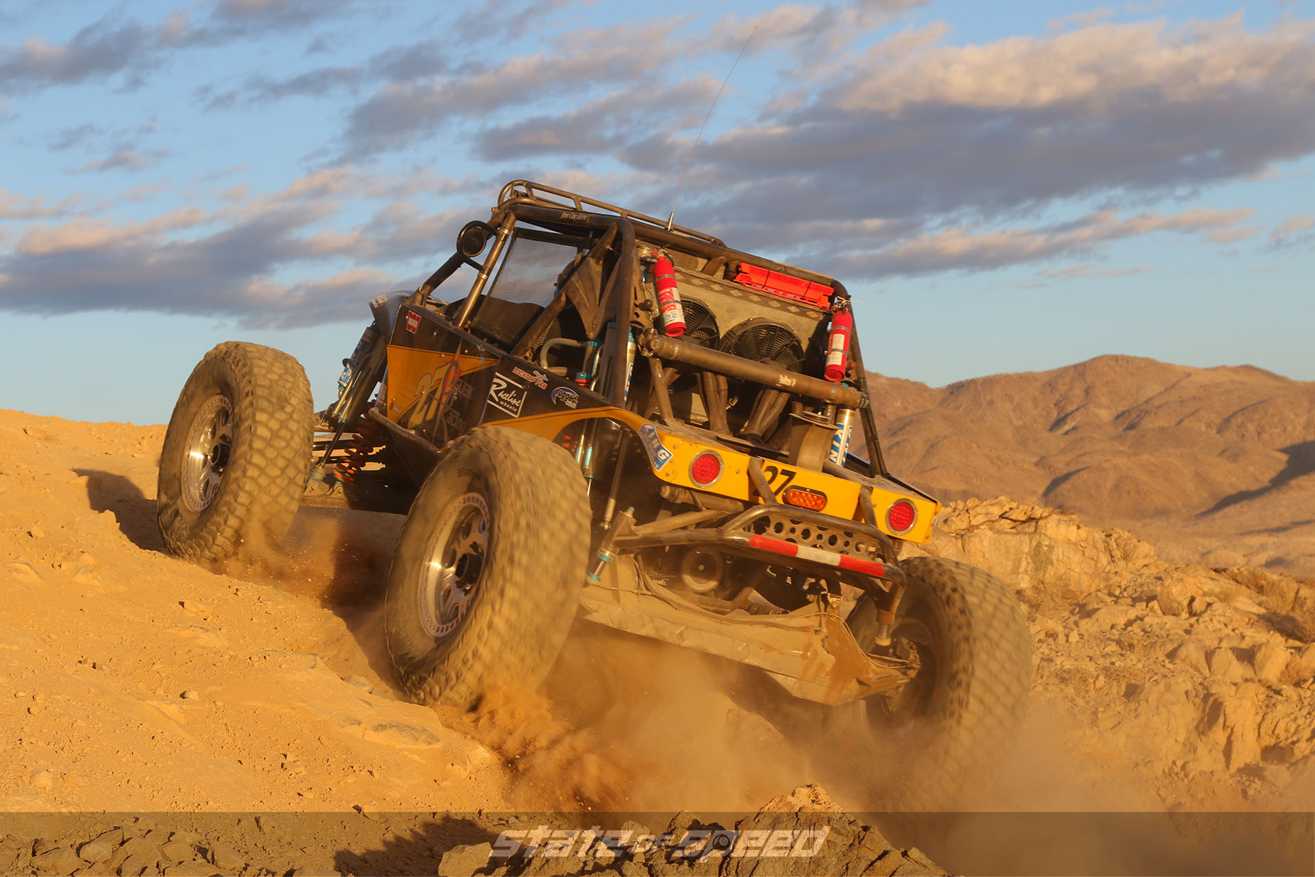 Offroad race vehicle