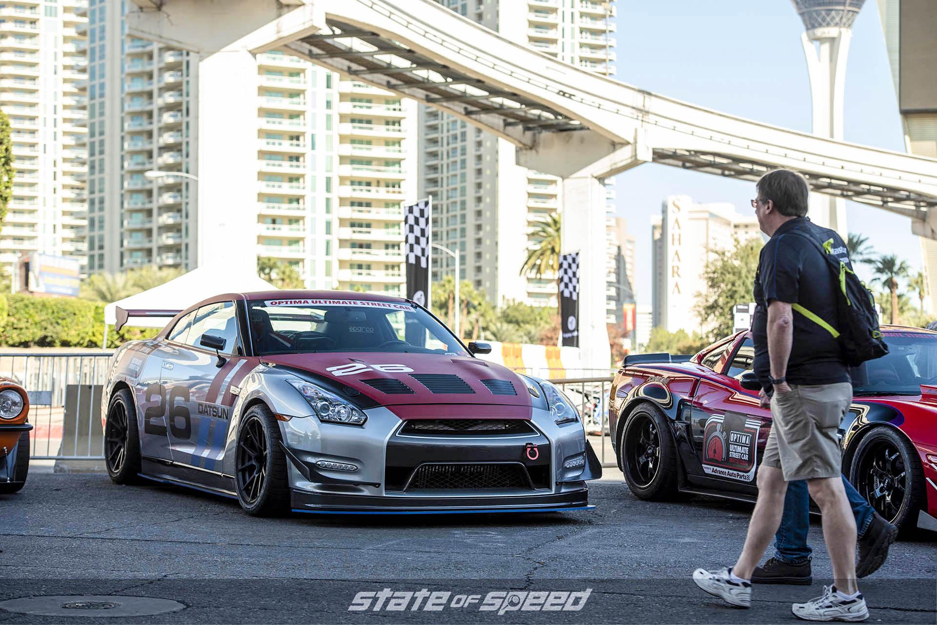 Race ready Nissan GTR R35