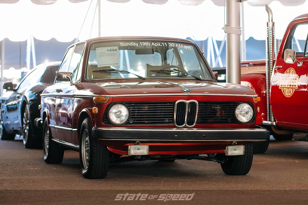 Red BMW 2002