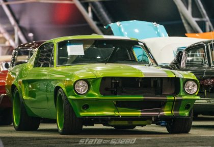 1967 Ford Mustang Custom Fastback front shot