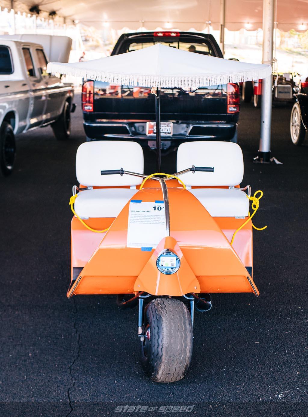 1957 Jato Golf Cart