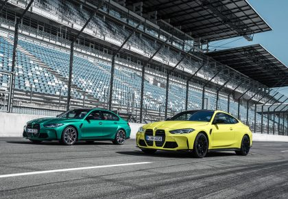 New 2021 BMW M4 Coupe and M3 Sedan