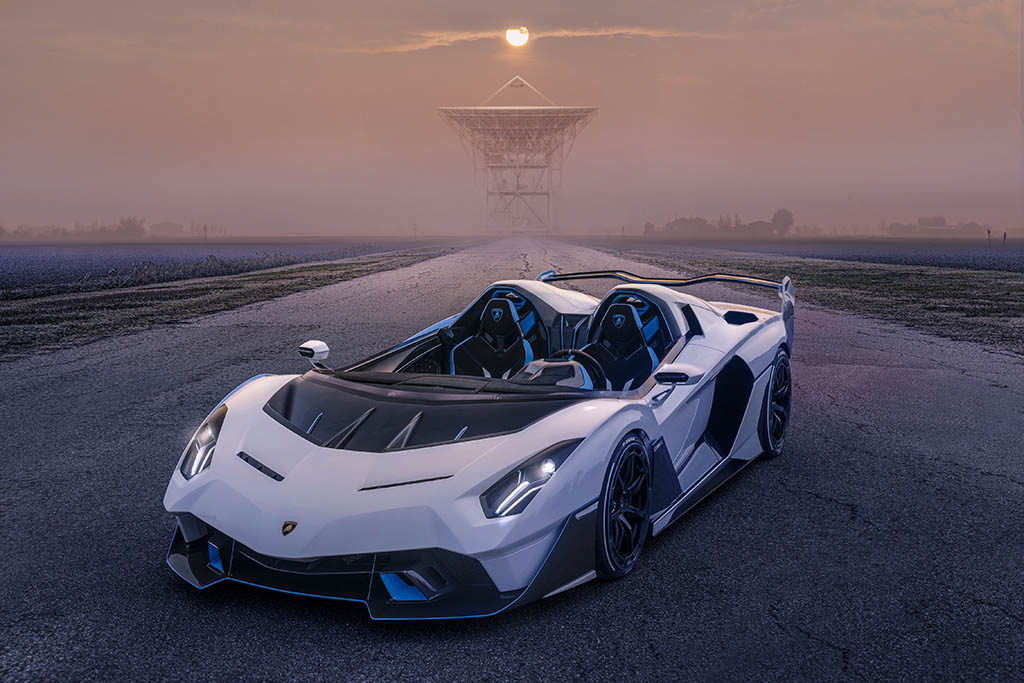 new open air one of one lambo