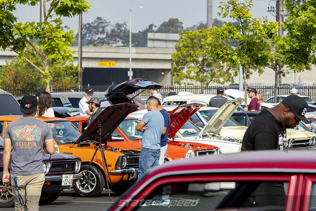 Toyota Sprinters and corollas at state of speed Los Angeles LA