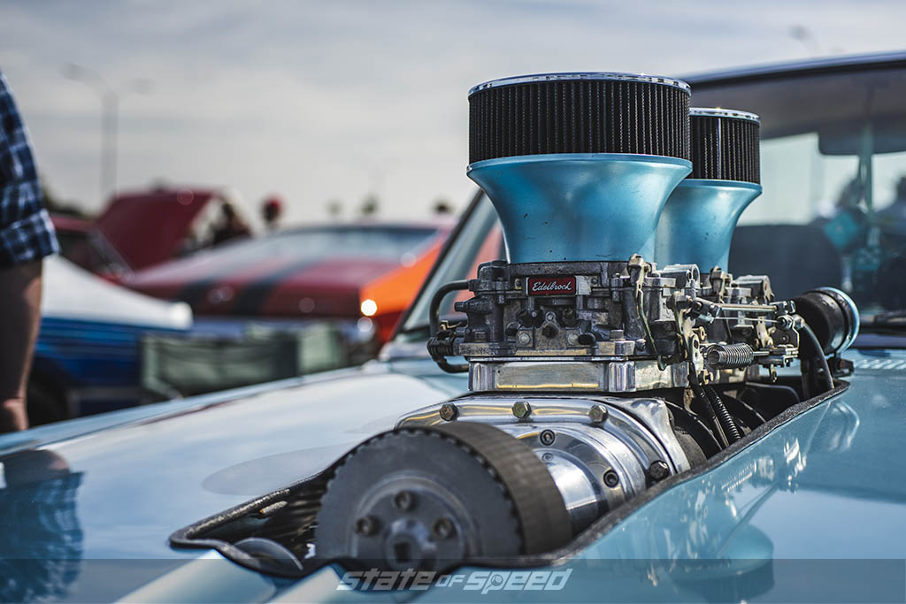 roots supercharger on ford falcon rachero
