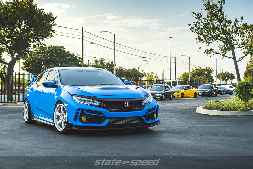civic type r car show state of speed los angeles