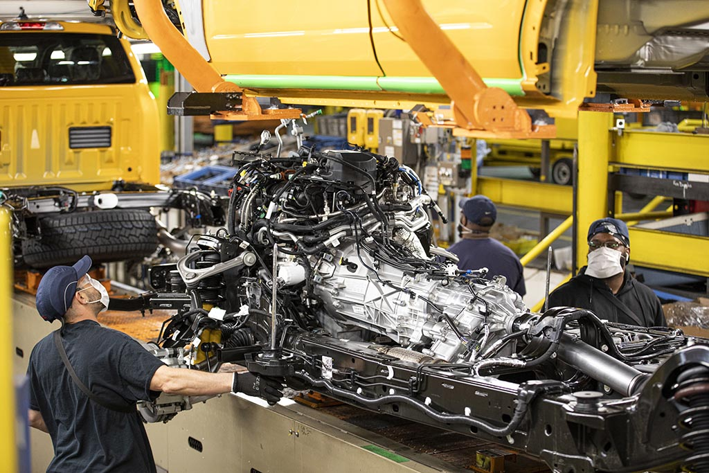 Production of the all-new 2021 Ford Bronco is underway at the Michigan Assembly Plant; the two-door and first ever four-door models are now on their way to Ford dealerships across America